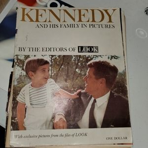 1963 Magazine Kennedy & Family